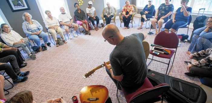 Davidsonville musician helps cancer patients cope