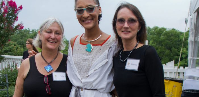 Wellness House hosts celebrity chef event with Carla Hall of 'The Chew'